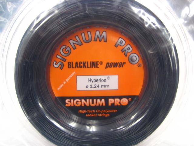 【送料込み!!】 Hyperion ハイペリオン 200m【SIGNUM PRO硬式テニス ロールガット】1.18mm 1.24mm 1.30mm
