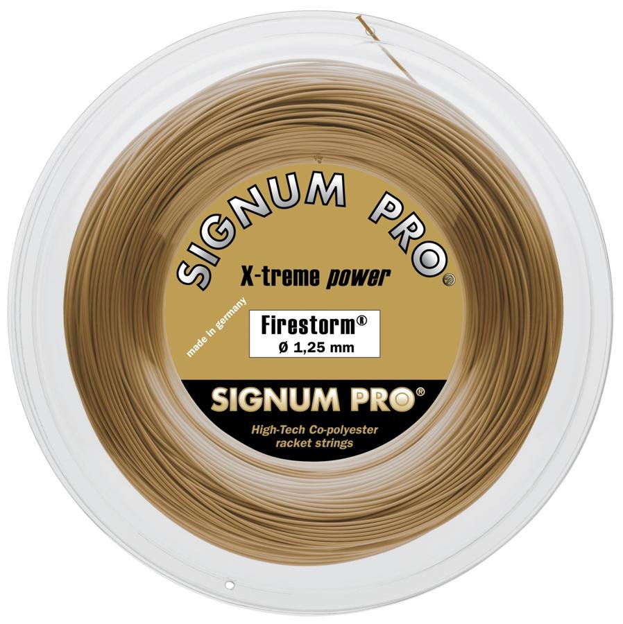 【送料込み】 Firestorm ファイヤーストーム【SIGNUM PRO硬式テニス ロールガット】120-125-130