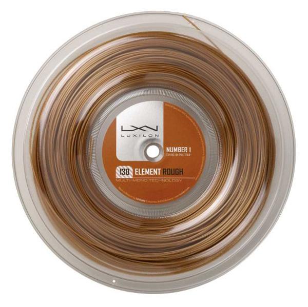 LUXILON ELEMENT ROUGH 130 Reel/エレメントラフ130リール(200M)【LUXILON硬式テニス ロールガット】WRZ990730