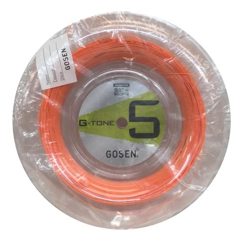 GOSEN G-TONE 5 ロール/ ジー・トーン5 ロール(オレンジ)【GOSENバドミントンガット】BS0652-OR