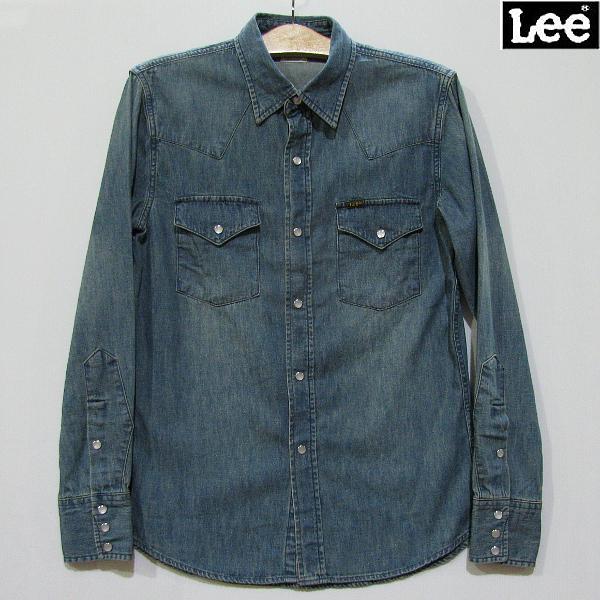 9d4c4002e Blue LT0500-146-colored among Lee Lee denim shirt western long sleeves shirt  western ...