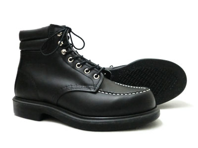 ◆ ◆ REDWING RW-8133 ◆ ◆ Red Wing / 6 インチスーパーソールモックトゥ [Black Chrome leather: