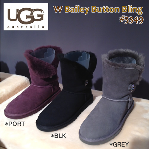 UGG AUSTRALIA Ugg Australia Boots Bailey Button Bling Bailey button bring short boots * ladies [SF]
