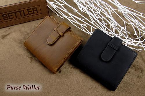 セトラー 2つ折り財布 SETTLER PurseWallet OW-1902ホワイトハウスコックスのデフュージョンブランド〔FL〕