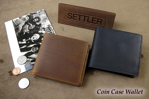 セトラー 2つ折り財布 SETTLER CoinCaseWallet OW-1563ホワイトハウスコックスのデフュージョンブランド〔FL〕
