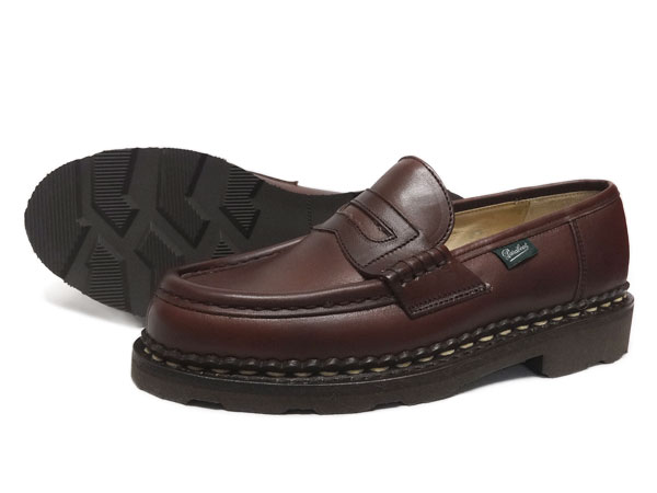 Paraboot ladies loafers Orsay Brown Paraboot Orsay 148903 Marron Marron [FL]