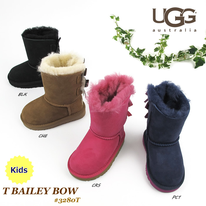 Ugg boots toddler Bailey bow UGG AUSTRALIA T Bailey Bow 3280T [SK]