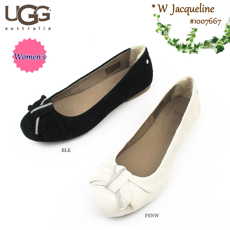 6e8cfe158bd A goes wrong; Dis ballet shoes women Jacqueline #1007667 <2015 new works in  the fall and winter> UGG AUSTRALIA W JACQUELINE [SK]
