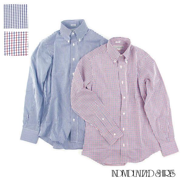 Individualized ShirtsGRAPH CHECK STANDARD FITインディビジュアライズドシャツ ブロード ボタンダウン メンズ〔FL〕