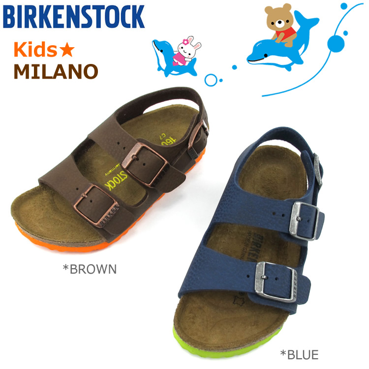 dae16dd91d8 Birkenstock kids Sandals Milan BIRKENSTOCK MILANO  035193  035203   narrow  width and narrow   SK