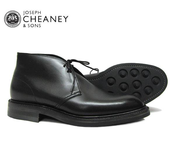 JOSEPH CHEANEY ジョセフ チーニー クロウフィールド CROWFIELD BLACK ビジネス 5793/99 ブラック *メンズ チャッカブーツ シューズ〔FL〕【あす楽】