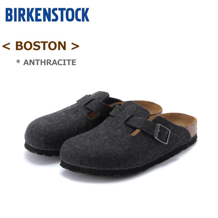 ビルケンシュトック ボストン アンスラジット(ダークグレー)BIRKENSTOCK BOSTON#160373<ナロー幅/幅狭> #160371<ノーマル幅/幅広>〔SK〕【あす楽】【SBFA_DL】