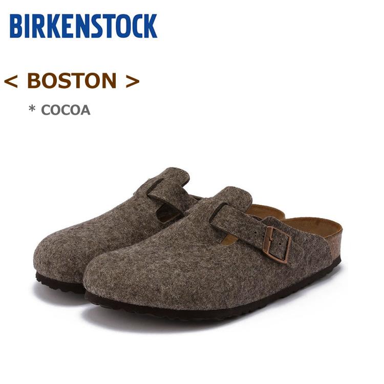 ビルケンシュトック ボストン ココア(ブラウン)BIRKENSTOCK BOSTON#160583<ナロー幅/幅狭> #160581<ノーマル幅/幅広>〔SK〕【あす楽】【SBFA_DL】