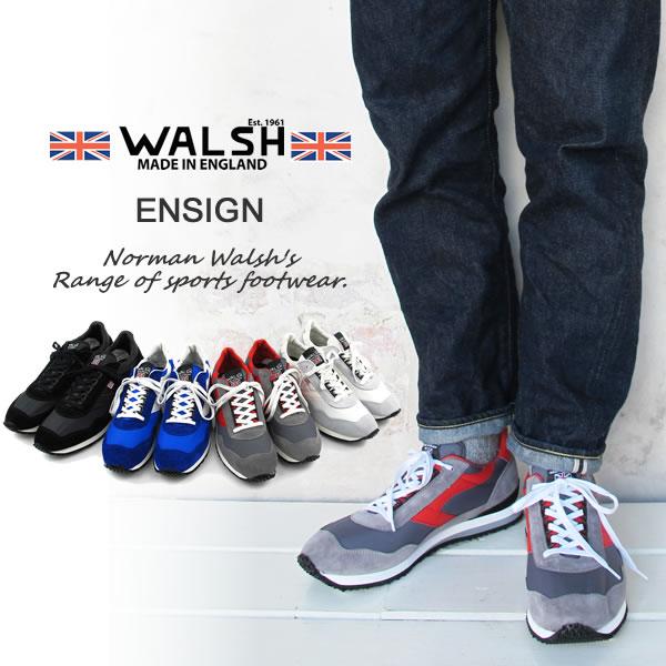 WALSH ウォルッシュスニーカー Ensign〔SK〕