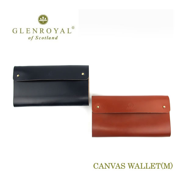Glen Royal CANVAS WALLET (M) 財布 03-6241〔FL〕