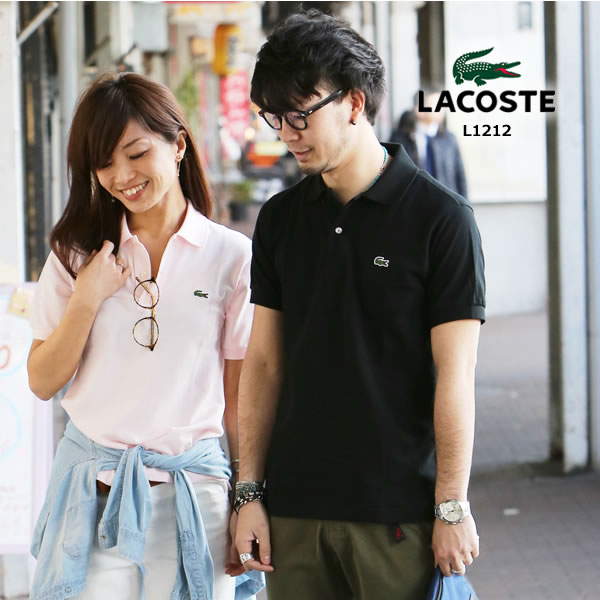 Lacoste L1212ポロシャツ 半袖 メンズ≪日本製≫〔SFT〕