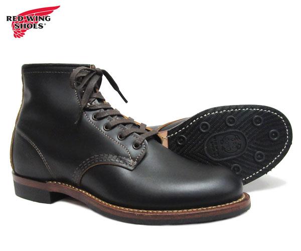 レッドウィング REDWING 9060 ベックマン ブーツ フラットボックス ブラック クロンダイク 黒 茶芯 BECKMAN BOOT FLAT BOX 先芯無し レッドウイング 〔FL〕