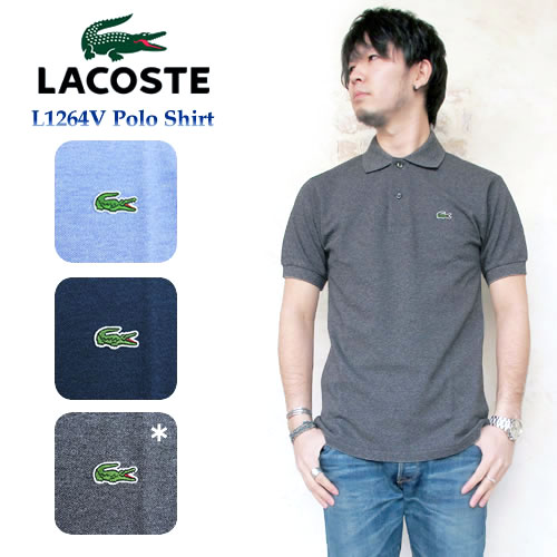 Lacoste L1264ポロシャツ 半袖 メンズ≪日本製≫〔FL〕