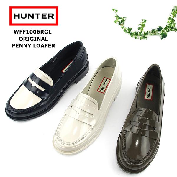 9f4764e820f Hunter pullover boots Lady s HUNTER ORIGINAL PENNY LOAFER WFF1006RGL  SK