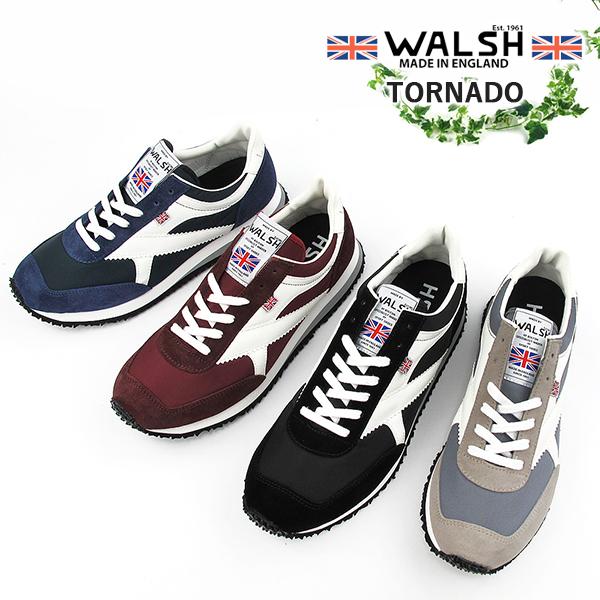 WALSH ウォルッシュ メンズスニーカー TORNADO〔SK〕【あす楽対応】