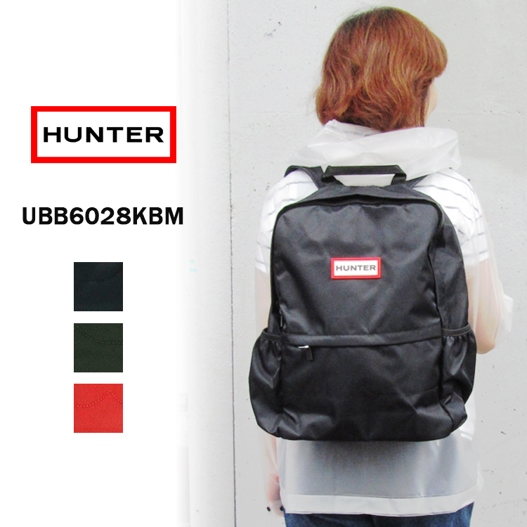 HUNTER ハンターオリジナル ナイロン バックパックUBB6028KBM〔SK〕