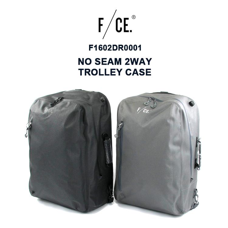 F/CE.(エフシーイー) F1602DR0001 NO SEAM 2WAY TROLLEY CASE バックパック リュック キャリー ユニセックス大容量 機能的【あす楽】