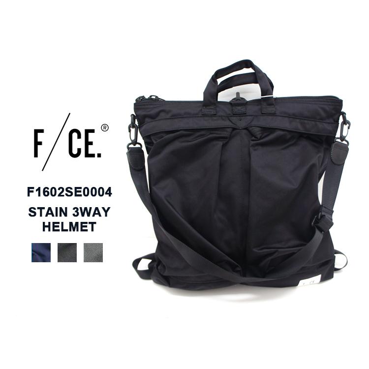 F/CE.(エフシーイー) F1602SE0004 STAIN 3WAY HELMET トート バックパック リュック ユニセックス 機能的【あす楽】