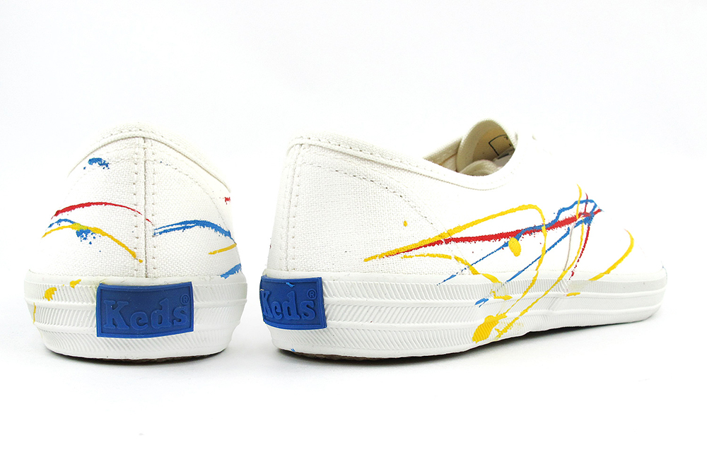 7fb04e2bec5 The model who gave representative model Champion Oxford of Keds colorful  paint.