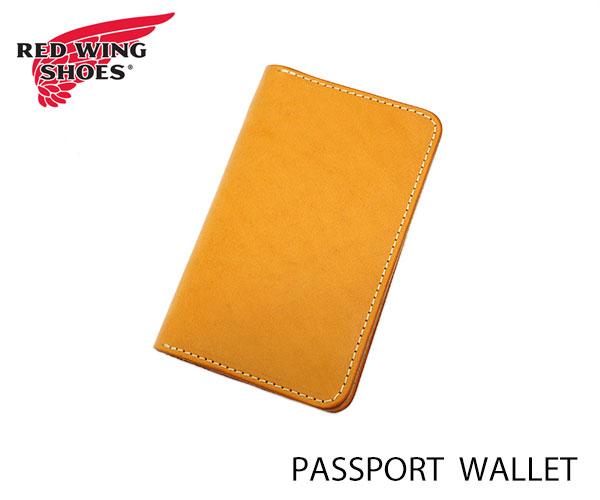 レッドウィング パスポートケース REDWING PASSPORT WALLET 純正〔FL〕 あす楽対応 TAN 正規品スーパーSALE×店内全品キャンペーン レッドウイング 宅配便送料無料 95028