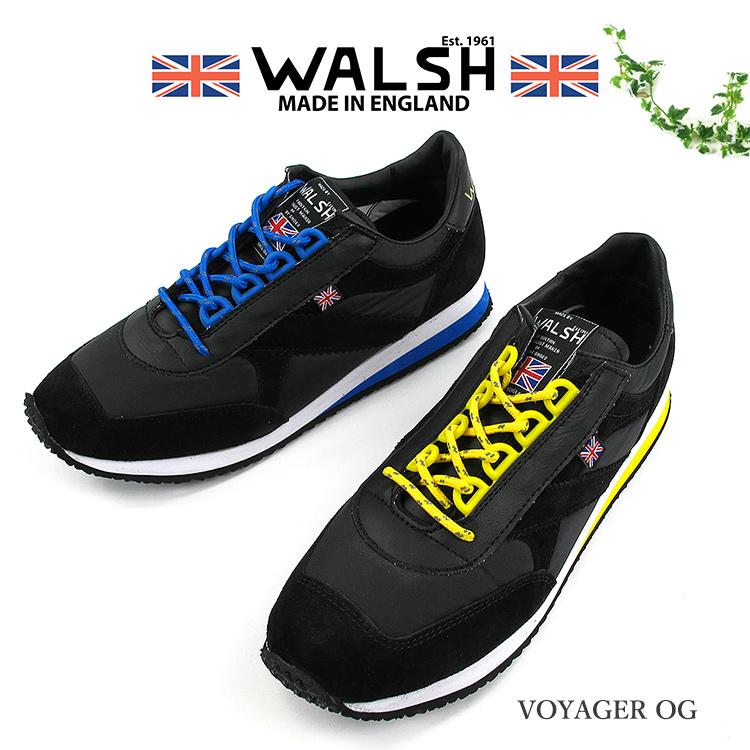 WALSH VOYAGER OG スニーカー ユニセックス 2020SS 軽量 UK5-9 2色 VOY50038/VOY50039〔SK〕