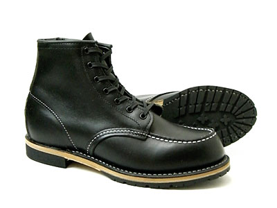 レッドウィング ベックマン ブーツ REDWING 9015 Beckman ブラック フェザーストーン モックトゥ レッドウイング〔FL〕【REDWINGJAPAN正規代理店】