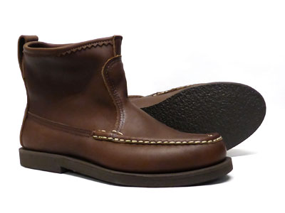 ◆ ◆ RUSSELL MOCCASIN / Russell moccasin ◆ ◆ Knock-A-Bout Boot and knock about #4070-7 boots brown leather