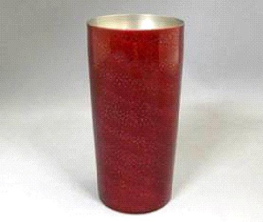 漆チタンカップ 大 紅色