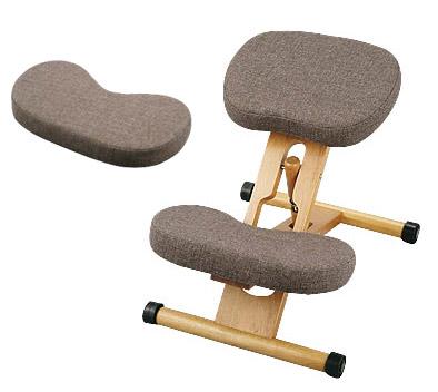 【あす楽対応】プロポーションチェア ブラウン オプションパーツ付セット 姿勢がよくなる椅子【
