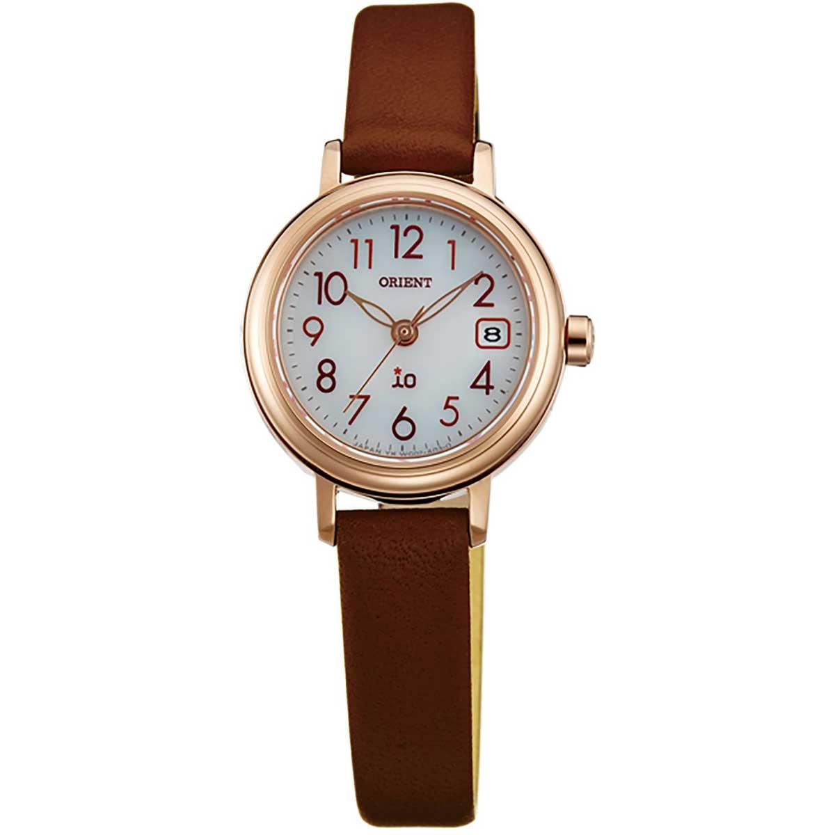 オリエント ORIENT WI0041WG イオ ナチュラル&プレーン iO NATURAL&PLAIN レディース 腕時計 時計 ソーラー [ 送料無料 ]