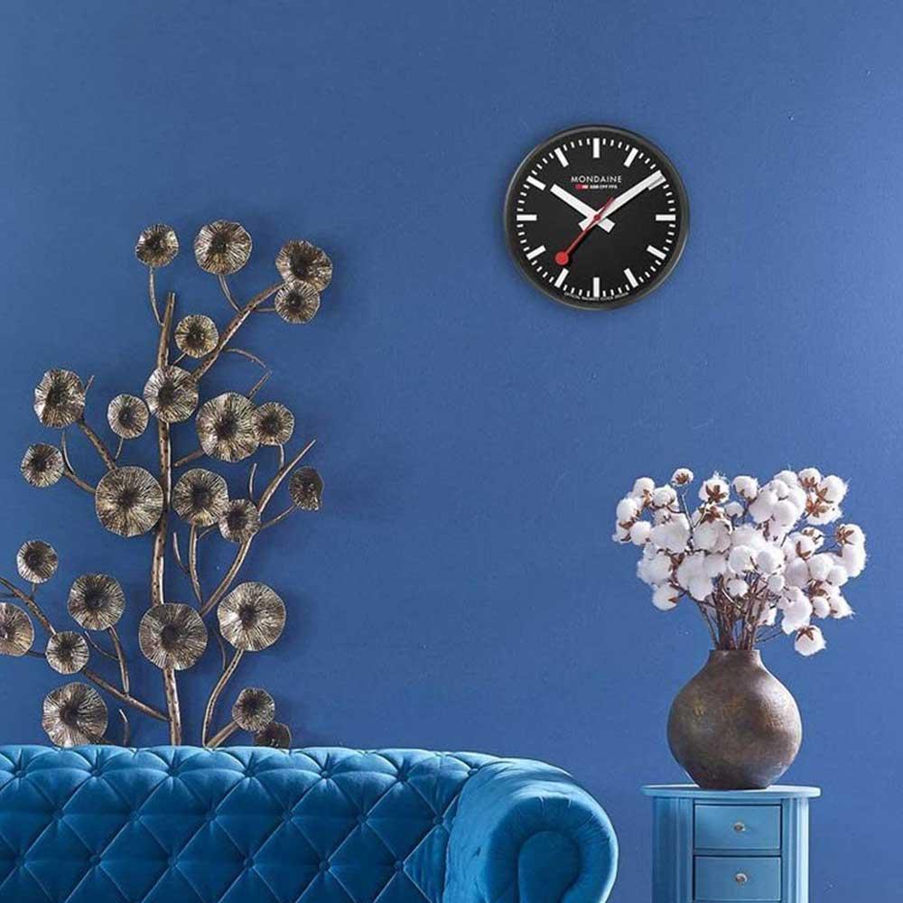 モンディーン MONDAINE ウォールクロック Wall Clock A990.CLOCK.64SBB 掛け時計