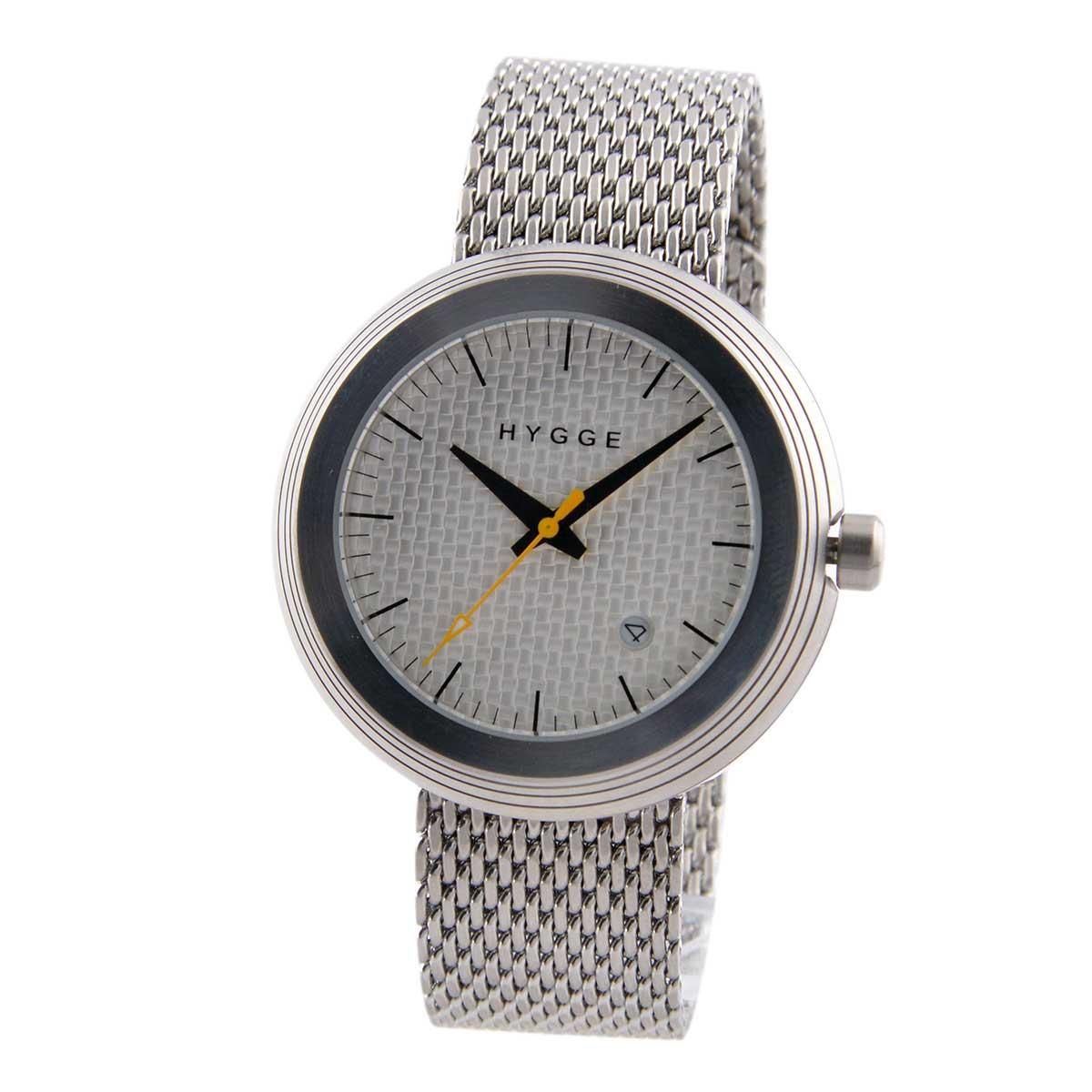 ヒュッゲ HYGGE メッシュ MSM2311D(CH) ユニセックス メンズ レディース 腕時計
