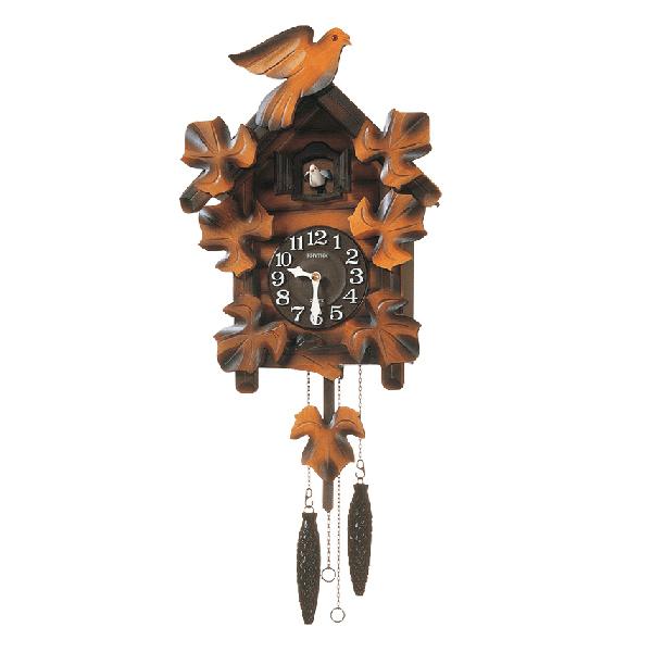 送料無料 プレゼントにおすすめ 出荷 時計と雑貨の通販サイトFLOAT リズム時計 カッコーメイソンR 公式ストア 掛時計 クォーツ RHYTHM 振り子 4MJ234RH06 正規品