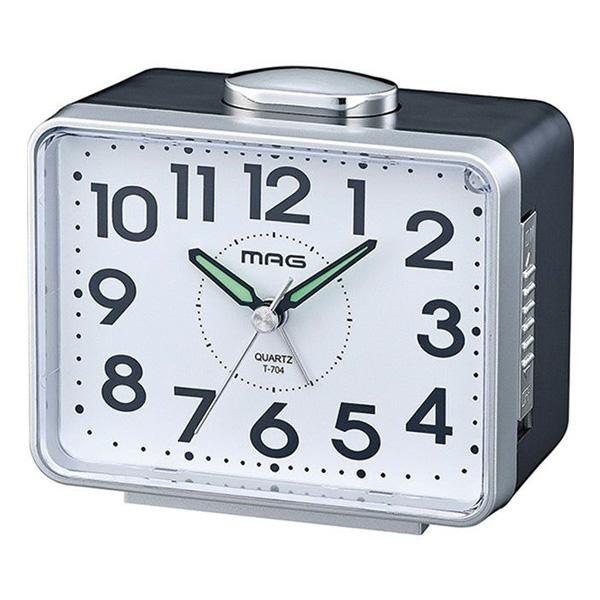 割引クーポン配布中 送料無料(一部地域を除く) プレゼントにおすすめ 時計と雑貨の通販サイトFLOAT ノア精密 NOA シンプル T-704 お歳暮 ベル太郎 目覚まし時計 正規品 SM-Z 置時計