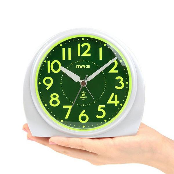 割引クーポン配布中 プレゼントにおすすめ 時計と雑貨の通販サイトFLOAT ノア精密 NOA 激安挑戦中 見やすい シンプル 正規品 T-711 あけぼの 目覚まし時計 置時計 入手困難 WH-Z
