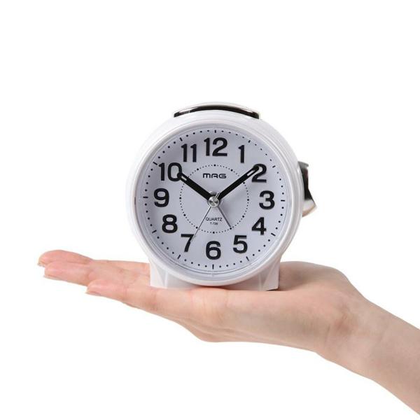 割引クーポン配布中 プレゼントにおすすめ 時計と雑貨の通販サイトFLOAT ノア精密 一部予約 NOA LEDライト アナログ T-729 評判 ブルーブライト 正規品 置時計 WH-Z 目覚まし時計