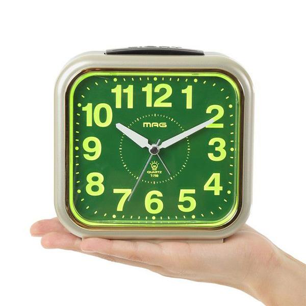 割引クーポン配布中 プレゼントにおすすめ 時計と雑貨の通販サイトFLOAT ノア精密 爆売り NOA アナログ CGM-Z 目覚まし時計 商品 置時計 MAG目覚まし時計コレクトライト T-759 正規品