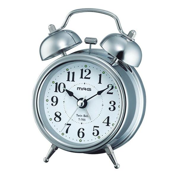 プレゼントにおすすめ 時計と雑貨の通販サイトFLOAT ノア精密 NOA ツインベル 目覚まし時計 連続秒針 正規品 大人気! 特別セール品 S-Z MAGベル音目覚まし時計 T-765 ベルズミニDX 置時計