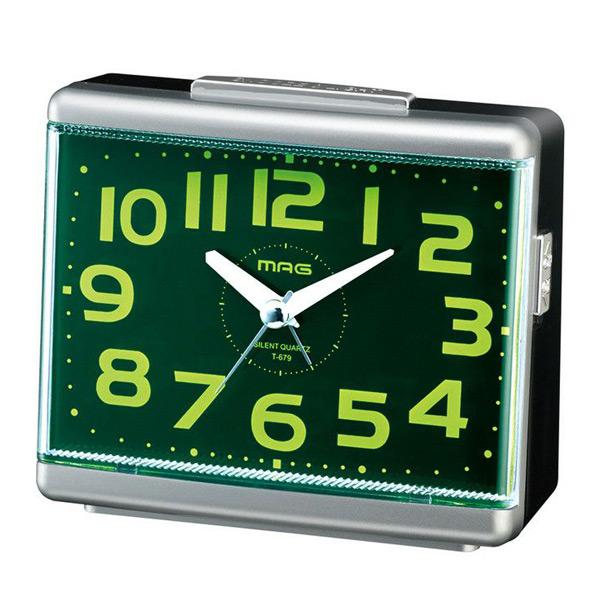 プレゼントにおすすめ 時計と雑貨の通販サイトFLOAT ノア精密 今ダケ送料無料 NOA 激安挑戦中 見やすい 目覚まし時計 置時計 グッドモーニング2号 SM-Z 正規品 T-679