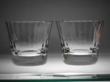 バカラ グラス 名入れ バカラ ペアグラス ミルヌイ 2105-395 タンブラー8.5cm ペア名入れ【結婚祝】【出産祝】【退職祝】【引越祝】【還暦祝】【記念品】