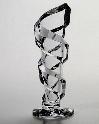 バカラ グラス 名入れ バカラ 花瓶 スパイラル花瓶22cm 2-612-026【結婚祝】【出産祝】【退職祝】【引越祝】【還暦祝】【記念品】