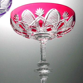 バカラ グラス 名入れTSAR(ツァー)/ 1499-125 ピンク シャンパンクープ【名入れ エッチング対応品(別途有料)】名入れ ギフト【結婚祝】【出産祝】【退職祝】【引越祝】【還暦祝】【記念品】