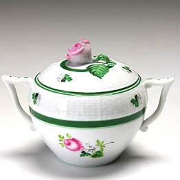 ヘレンド ウィーンのバラ送料無料【ヘレンド】ウィーンのバラ シュガー  472食器【結婚祝】【出産祝】【退職祝】【引越祝】【還暦祝】【記念品】
