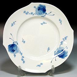 マイセン皿【マイセン】meissen青い花  プレート 28cm 28479【結婚祝】【出産祝】【退職祝】【引越祝】【還暦祝】【記念品】