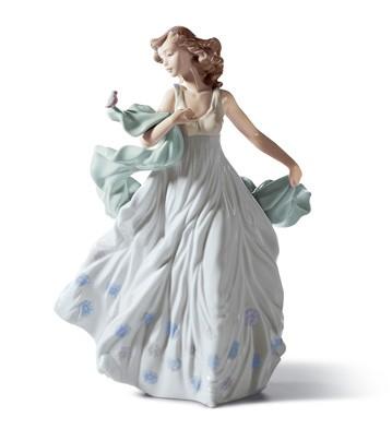 リヤドロ人形【リヤドロ】夏のセレナーデ6193【結婚祝】【出産祝】【退職祝】【引越祝】【還暦祝】【記念品】